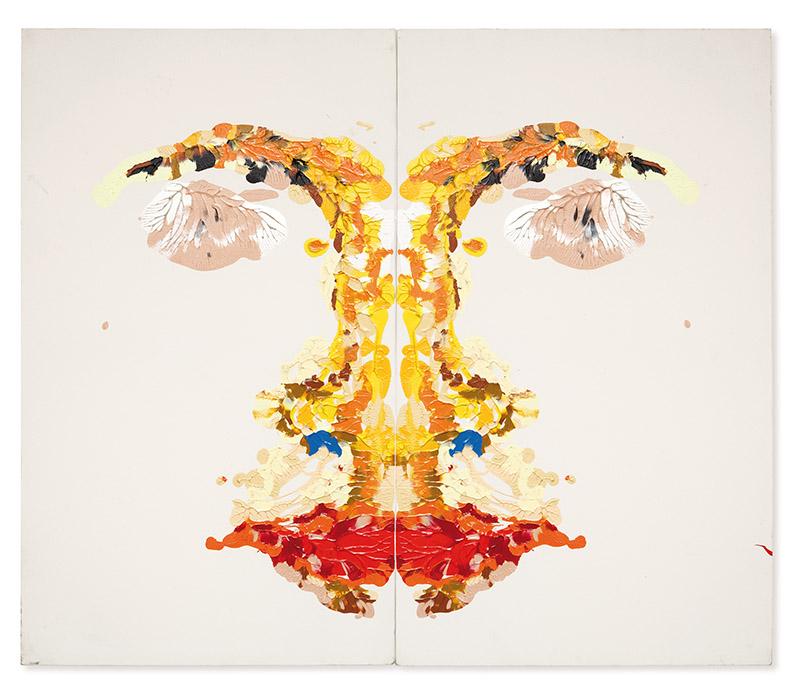 Sem título, s/d acrílica sobre tela 120 × 140 cm (cada)