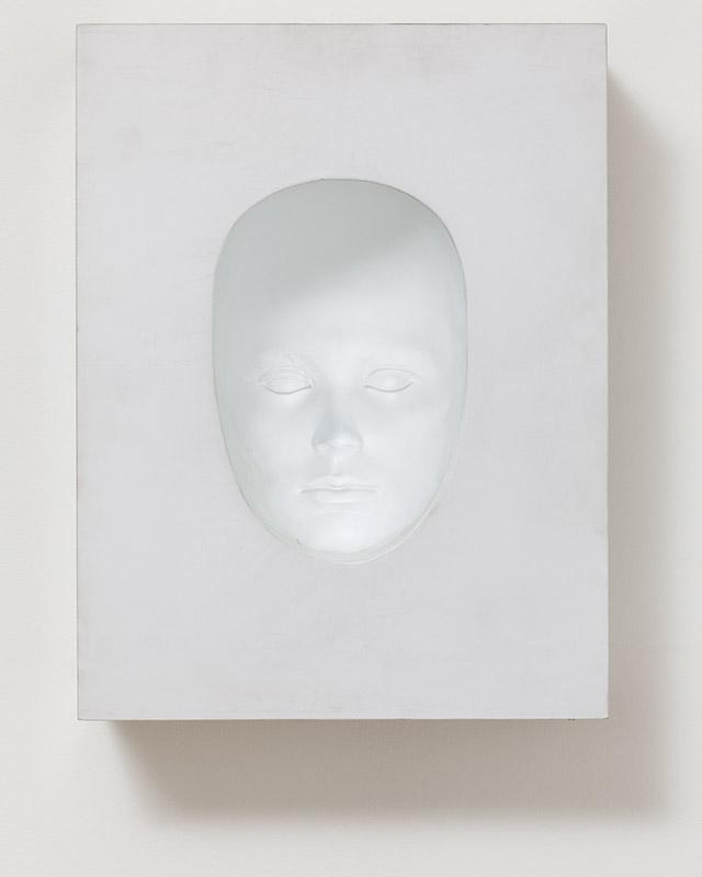 Máscara, s/d Madeira, fórmica, plástico e tinta esmalte 41,2 × 31 × 11 cm