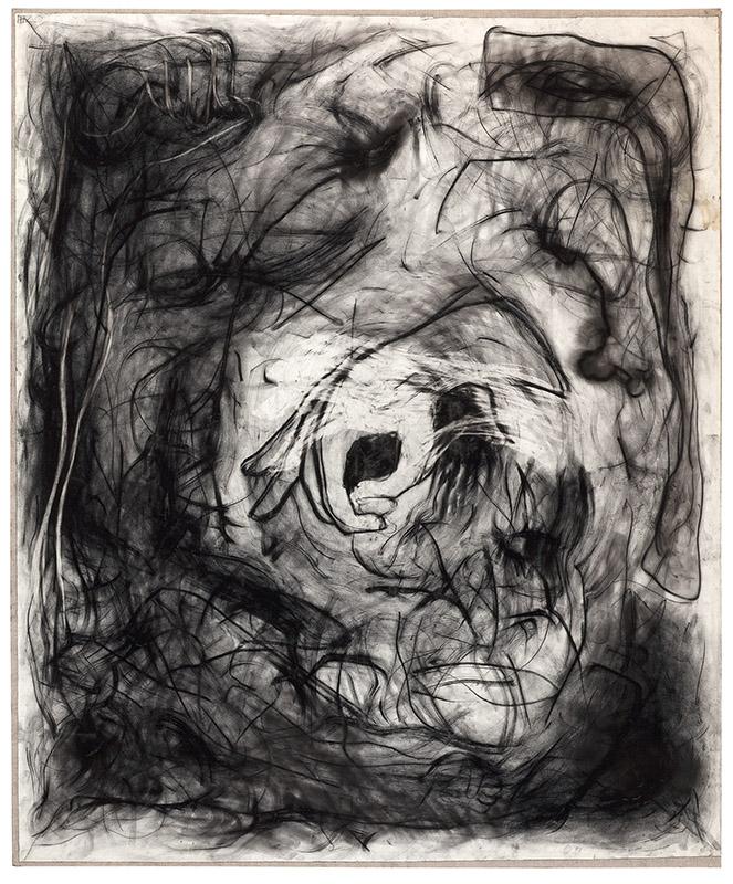 Tao, 1994 carvão sobre papel sobre tela 159 × 191 cm