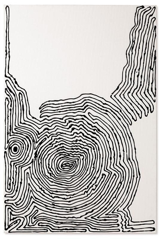 Sem título, s/d acrílica sobre tela 120 × 80 cm